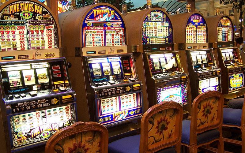 Spelautomater-kasinomaskiner
